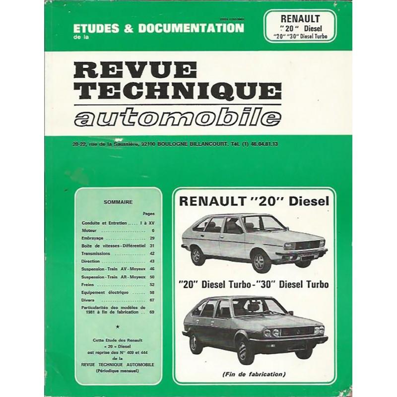 Revue Technique R20 / R30 TD