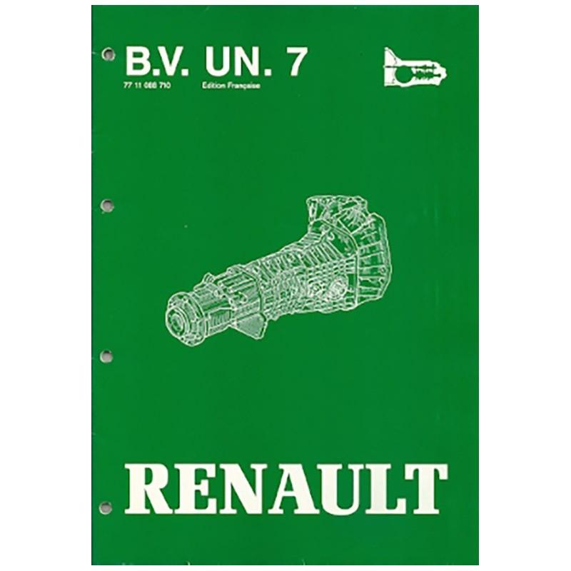 Manuel Reparation BVM UN.7