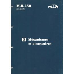 Manuel Reparation Accessoires