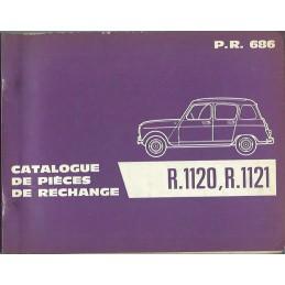 Catalogue de Pieces 1961
