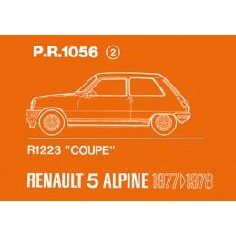 Catalogue de Pieces Alpine Coupe