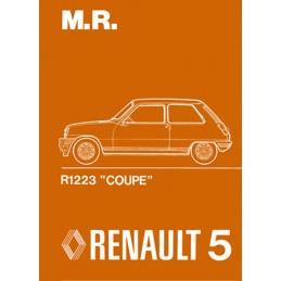 Manuel Reparation R5 A Coupe