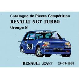 Catalogue de Pieces Gr N