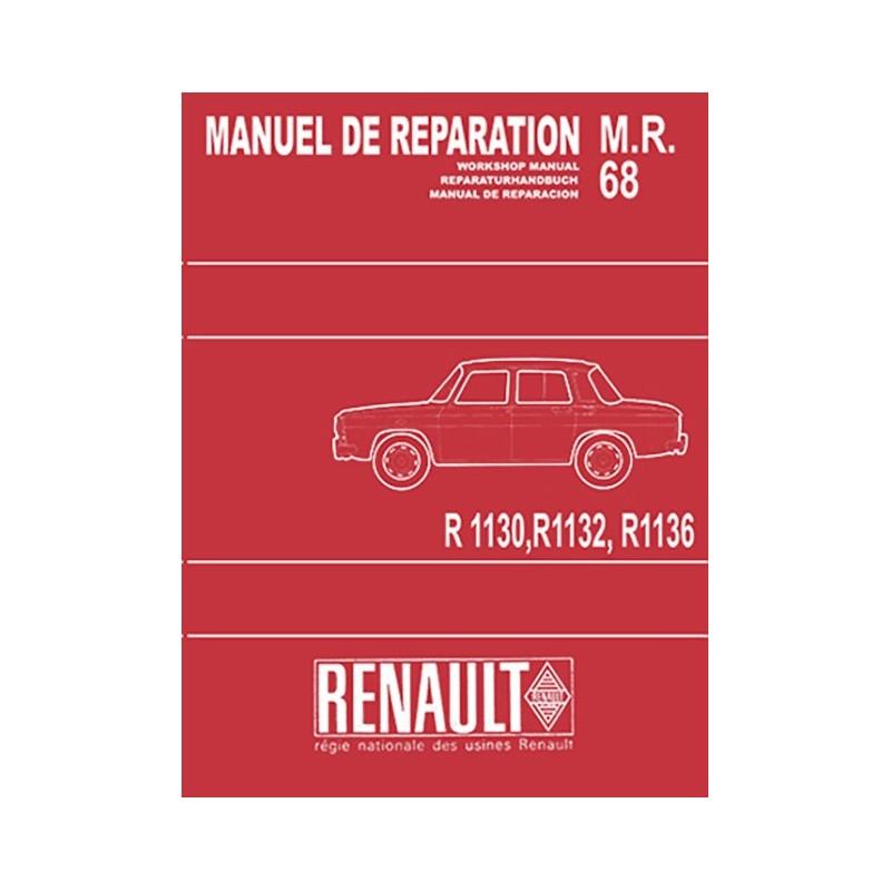 Manuel Reparation R 1130 / 32 / 36