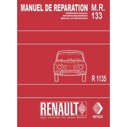 Manuel de Reparation  R 1135