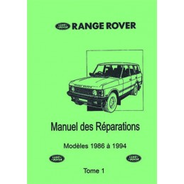 Manuel Reparation 86 - 94 Tome 1
