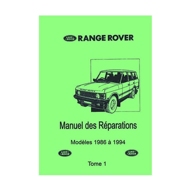 Manuel Reparation 86 - 94 Tome 1