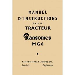 Notice Entretien MG6