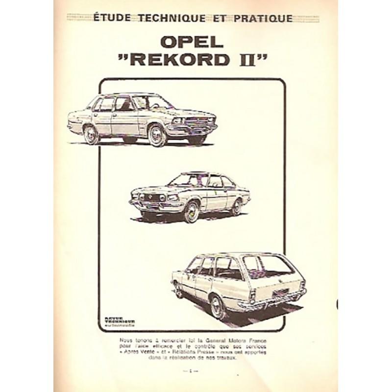 Revue Technique Rekord II
