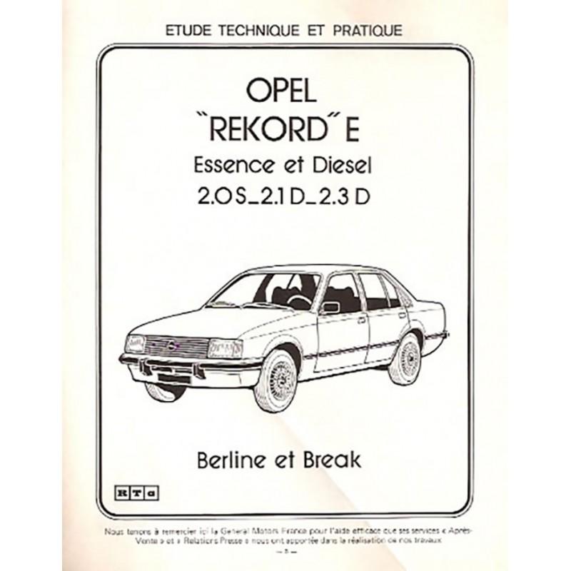 Revue Technique Rekord E