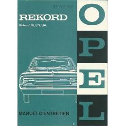 Notice d' Entretien 1966