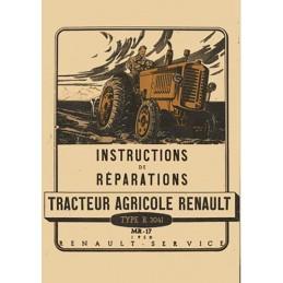 Manuel Reparation R 3041