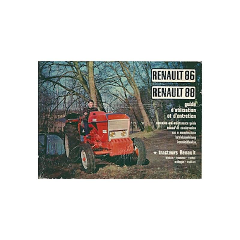 Notice Entretien 86 / 88