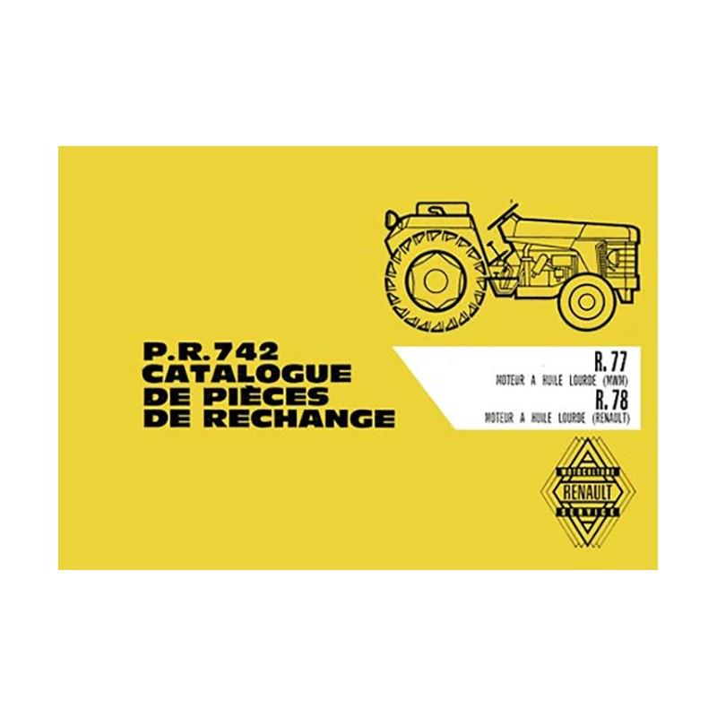 Catalogue Pieces R 77 / R 78