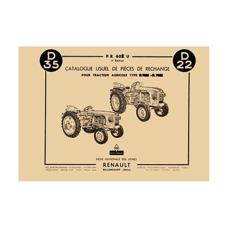 Catalogue Pieces D35 / D22