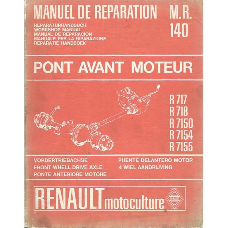Manuel Reparation R 717 / R 7155