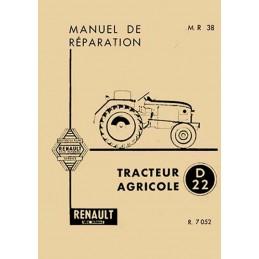 Manuel Reparation D22 R 7052