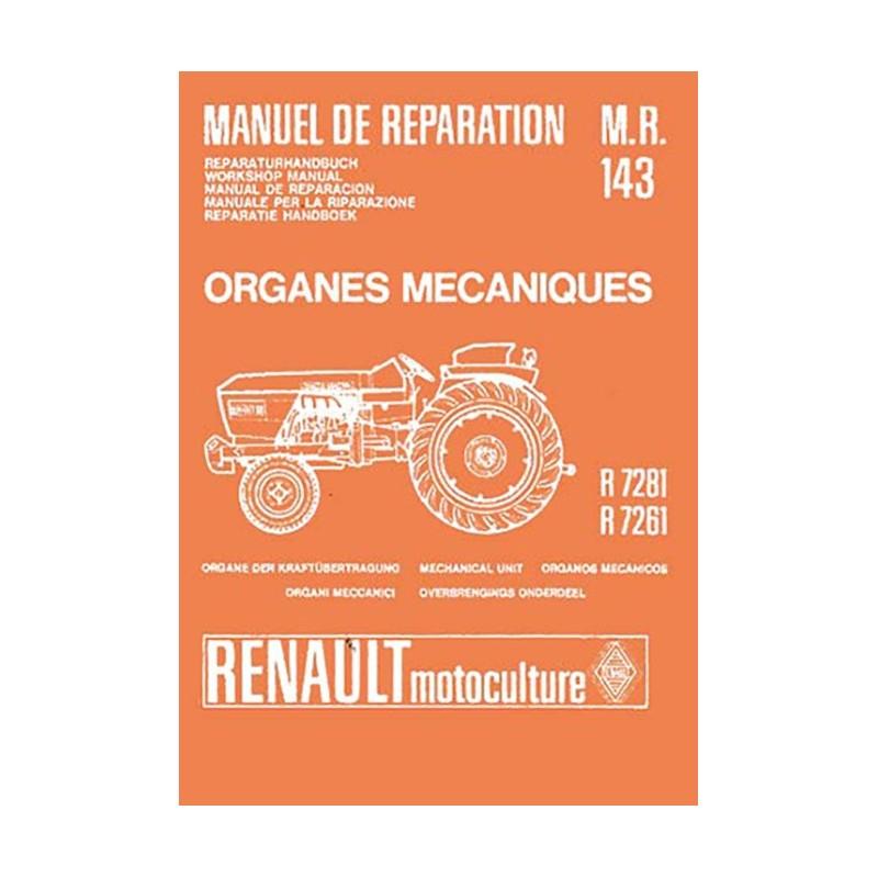 Manuel Reparation R 7281 / R 7261