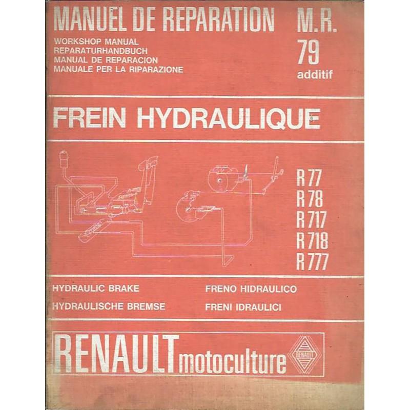 Manuel Reparation R 77 / R 78