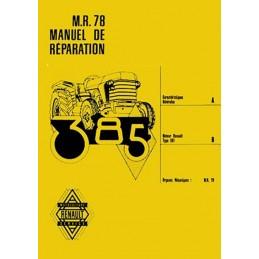 Manuel Reparation R 78