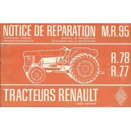 Notice  Reparation R 78 / R 77