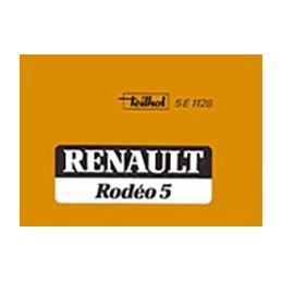 Notice Entretien Rodeo 5