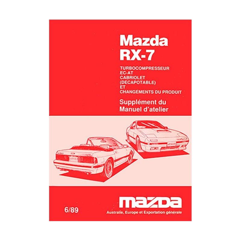 Manuel Reparation RX7 Turbo MK2