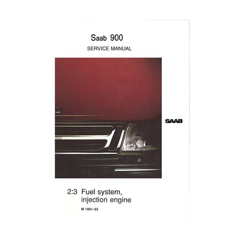 Service Manual Fuel System (GB)