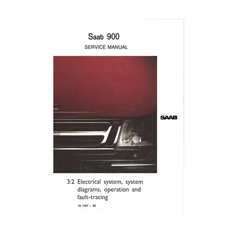 Service Manual Electrical  Gb  Saab 900 De Saab