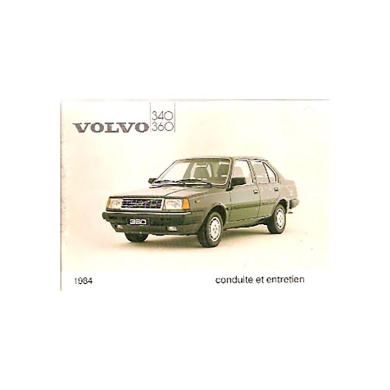 Notice Entretien  1984