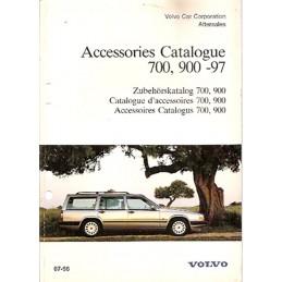 Catalogue Accessoires 1997