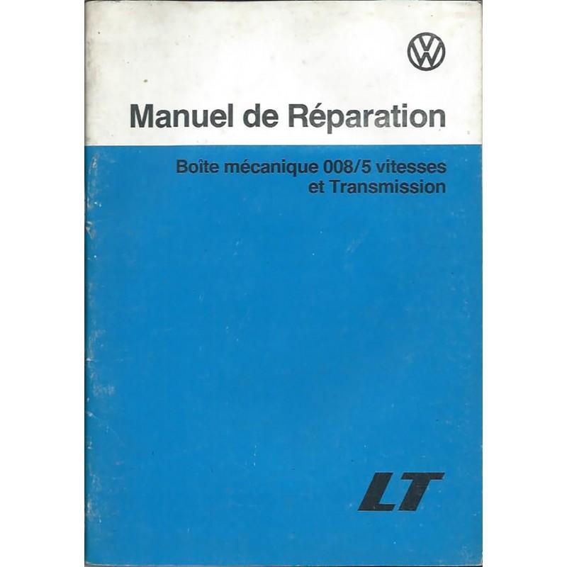 Manuel Reparation  BV Meca