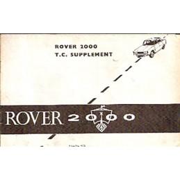 Notice d' Entretien 2000 TC