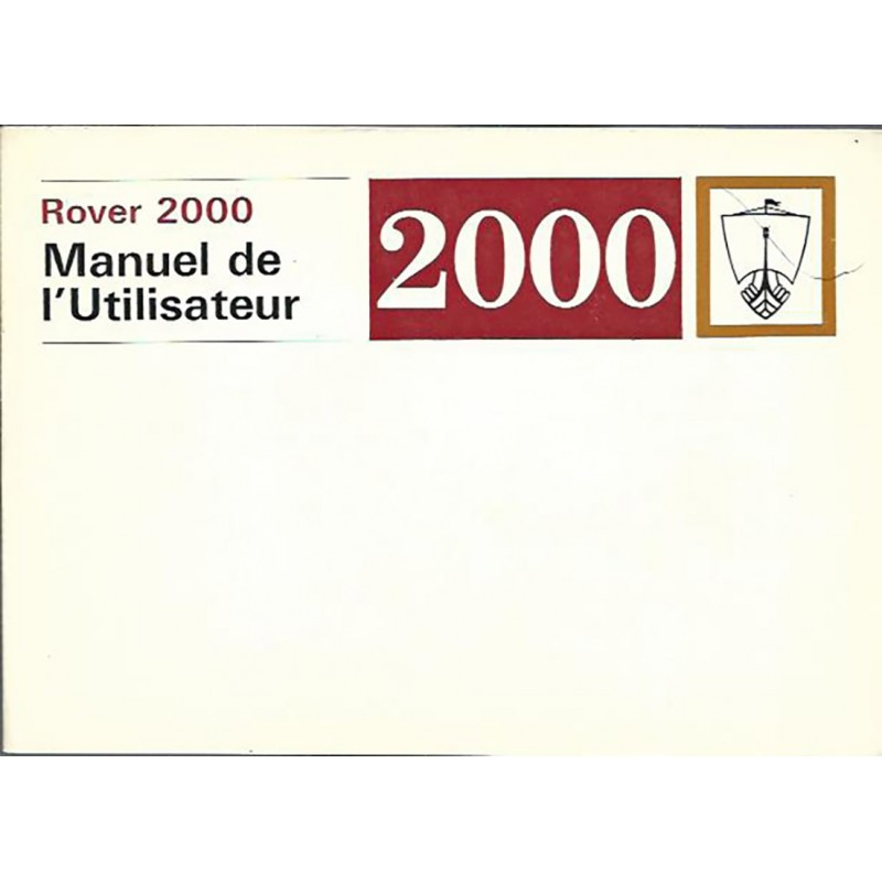Notice d' Entretien 1971
