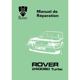 Manuel Reparation 2400 SD Turbo