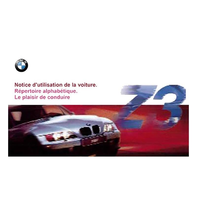 Notice Entretien Z3