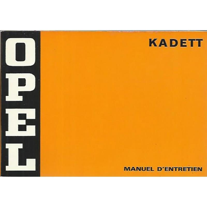 Notice d' Entretien 1974