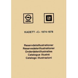 Catalogue Pieces Kadett C