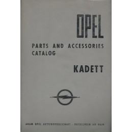 Catalogue Pieces Kadett A