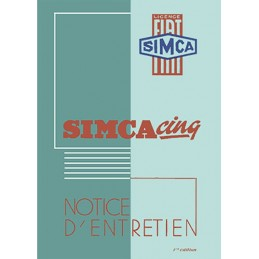Notice d' Entretien 1938