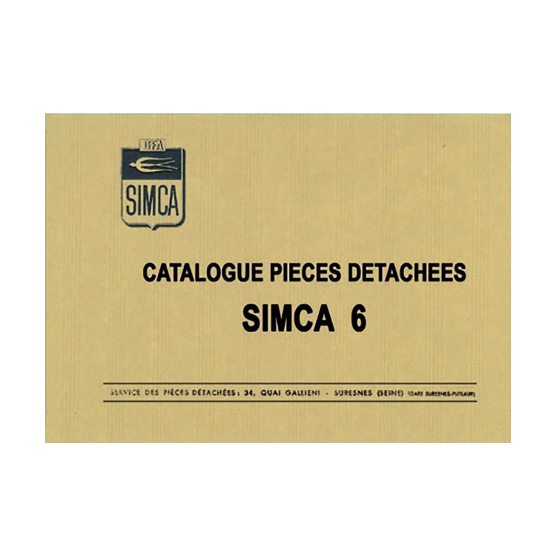 Catalogue Pieces