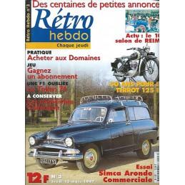 Retro Hebdo N° 3