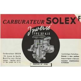 Carburateur Type 32 AIC