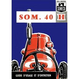 Livret Entretien SOM 40H