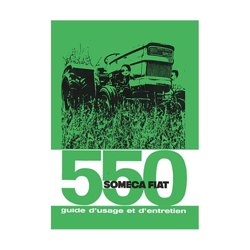 Livret Entretien 550