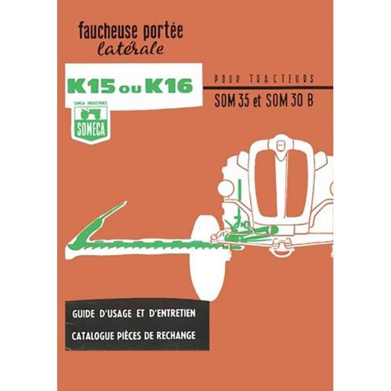 Notice Faucheuse K15