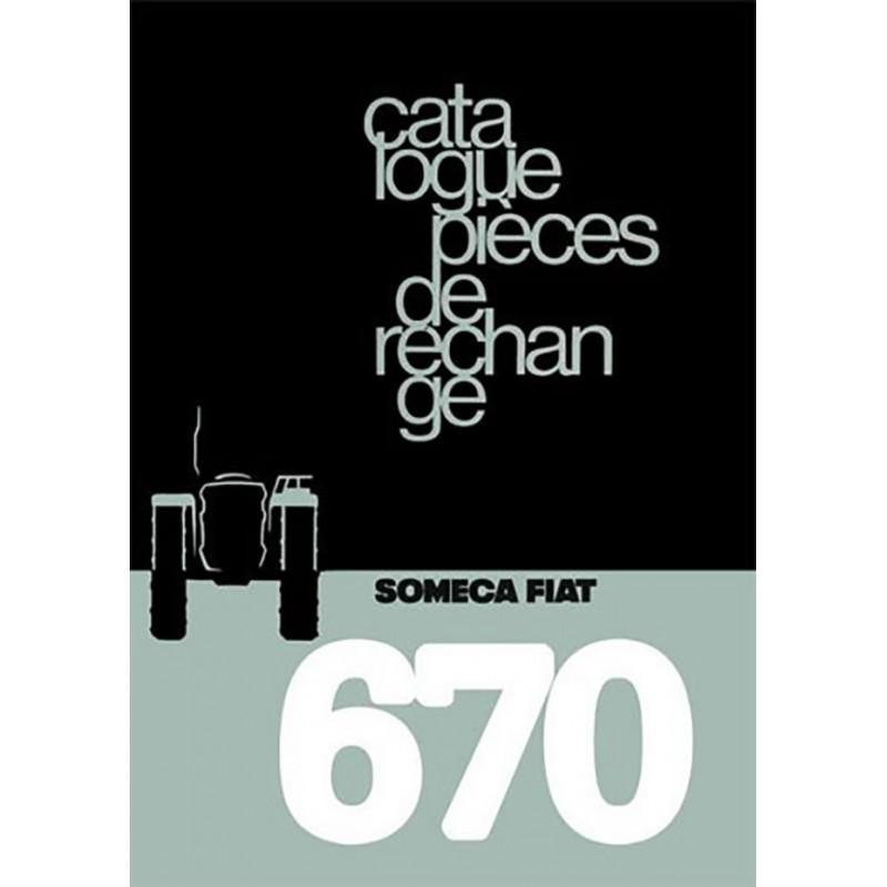 Catalogue Pieces SOMECA 670