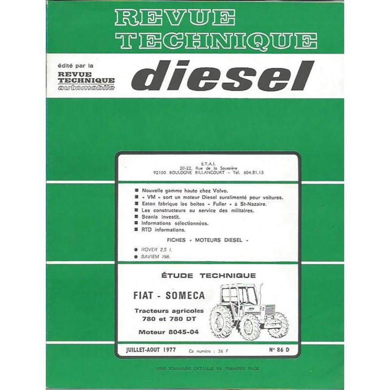 Revue Technique 780 / 780 DT