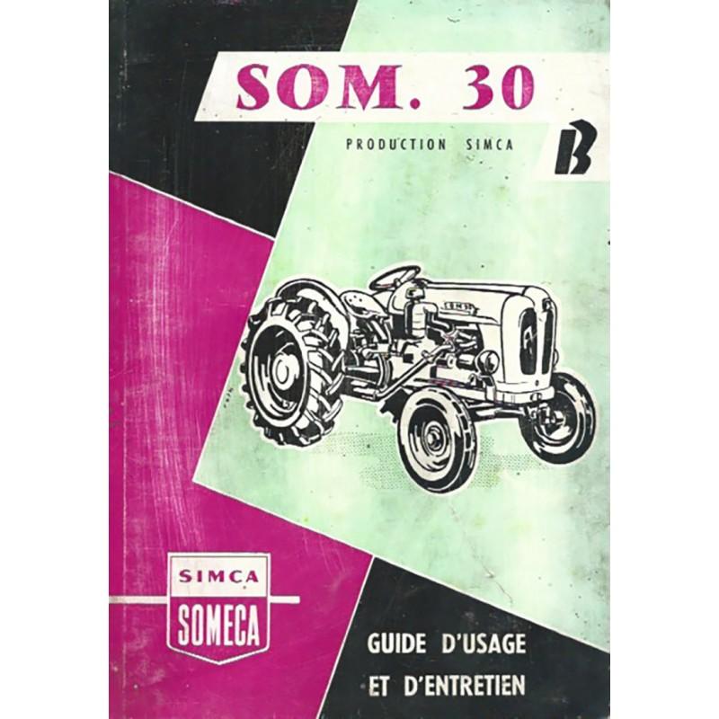 Livret Entretien SOM 30B
