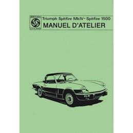 Manuel d' Atelier  Spitfire 1500